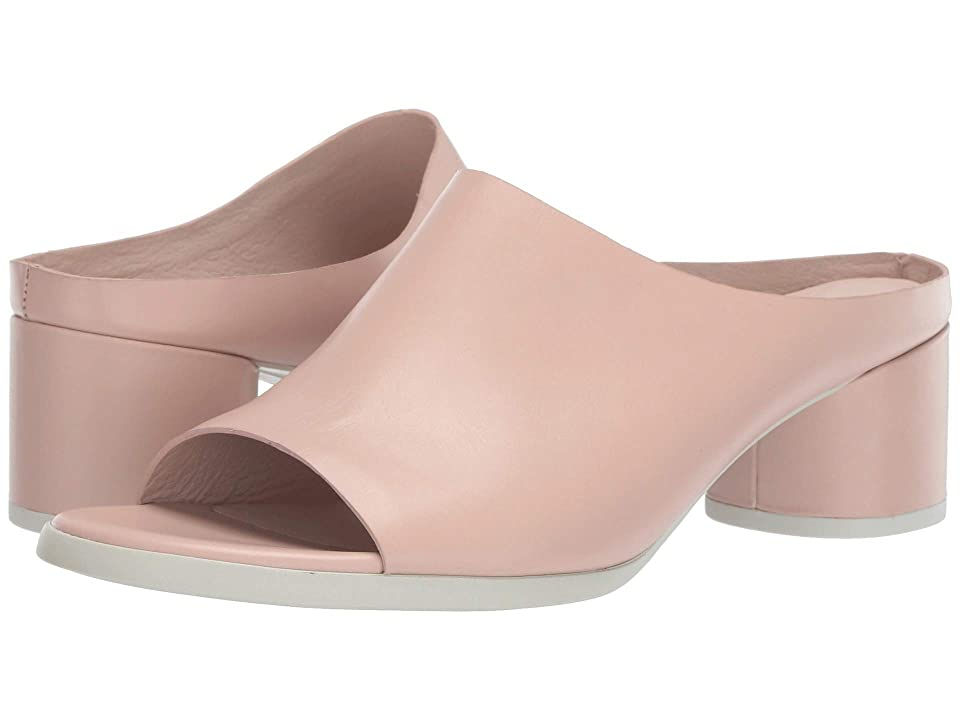 UPC 825840000566 product image for ECCO Shape 45 Block Slide (Rose Dust Calf Leather) Women's 1-2 inch heel Shoes | upcitemdb.com