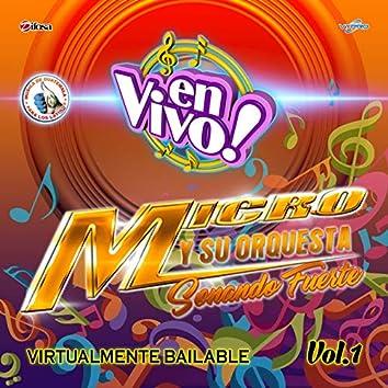 Virtualmente Bailable Vol. 1. Música de Guatemala para los Latinos (En Vivo)