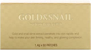 Petitfee Gold & Snail Hydrogel Eye Patch, 60 Patches X 1.4G