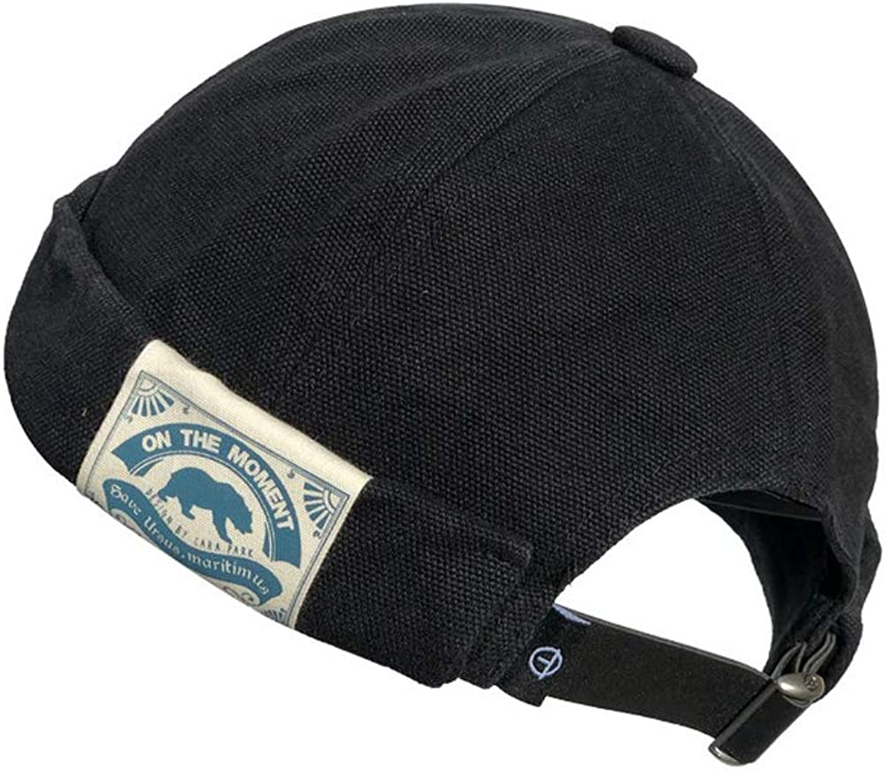 Croogo Brimless Today's only Docker Direct stock discount Cap Rolled Skull Hat Unisex Cuff Harbour