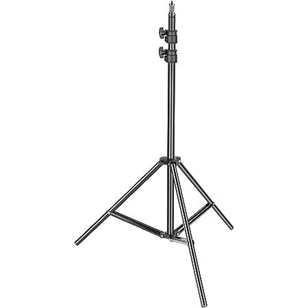 Neewer Fotografía Soporte de Luz 92-200cm Ajustable Trípode Robusto para los Reflectores Softboxes Luces Paraguas Capacidad de carga: 8 kg