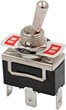 Baomain Toggle Switch SPDT ON/Off/ON 3 Position 250VAC 15A 1/2