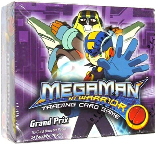 Mega Man NT Warrior Trading Card Game Gründ Prix Booster Box 24 Packs by Webkinz