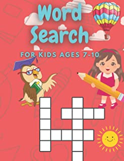 Word Search for Kids ages 7-10: Practice Spelling, Learn Vocabulary, and Improve Reading Skills II First Children Crosswor...