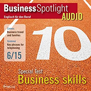Business Spotlight Audio - Special Test: Business skills. 6/2015 Titelbild