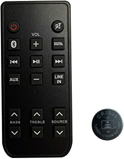 New Remote Control for RCA RTS7116S RTS7113WS RTRTS7116S soundbar System with Coin Battery