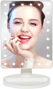 Fabuday LED Lighted Makeup Mirror