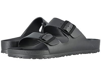 Birkenstock Arizona Essentials (Metallic Anthracite EVA) Shoes