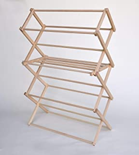 wooden clothes drying rack nz
