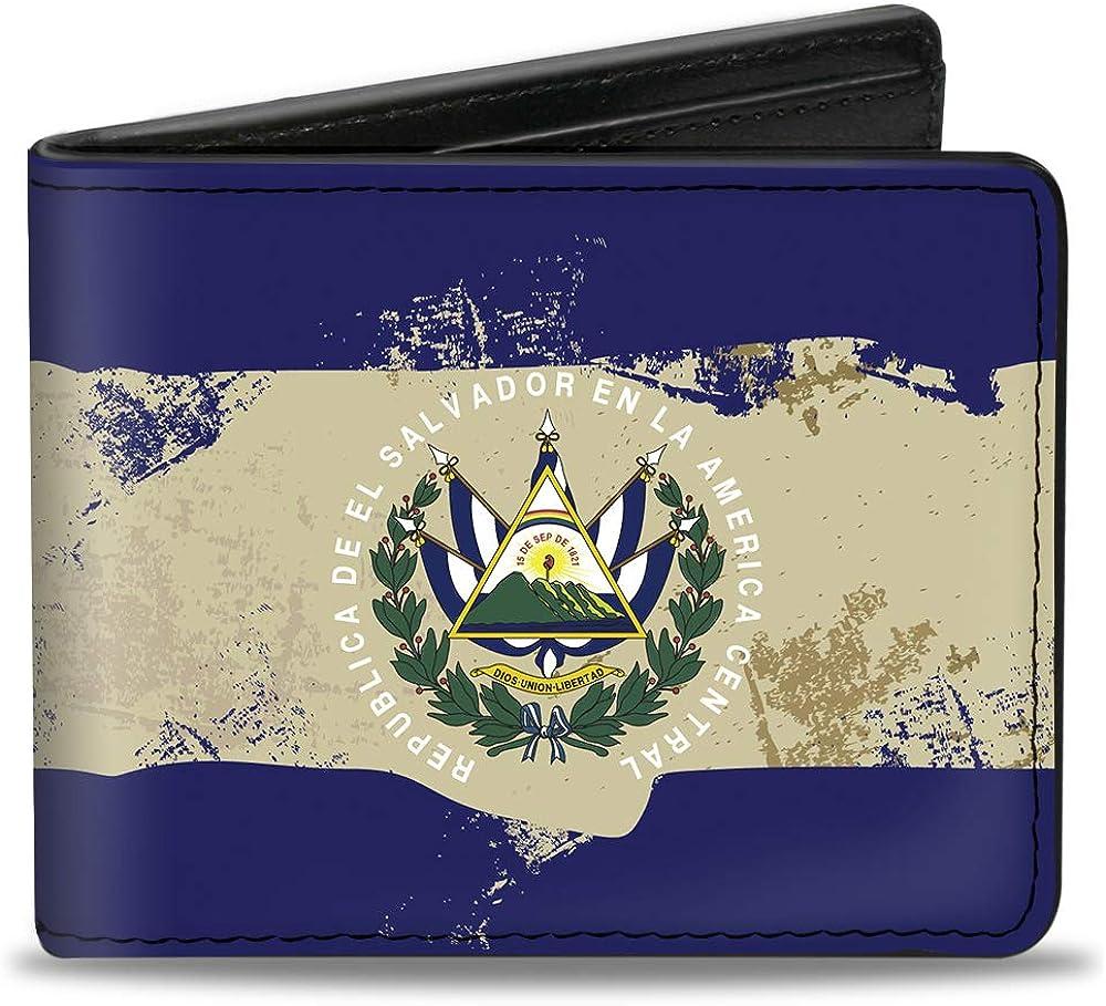Topics on TV Buckle-Down Men's Standard Bifold Wallet x Salvador 4.0