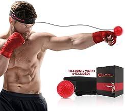 Bola de Velocidad de perforaci/ón con Diadema para ni/ños Adultos Juego port/átil de Entrenamiento de la Cabeza de la Bola de la Cabeza del Boxeo FORNORM Boxing Reflex Ball