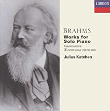 Brahms: Works for Solo Piano