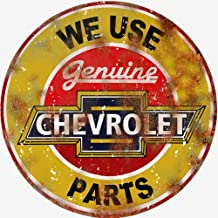 Victory Vintage Signs Extra Large Reproduction We Use Genuine Chevrolet Parts Sign