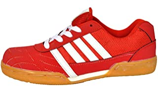 Livia Badminton Shoes baleno red Colour Best for Running, Jogging,