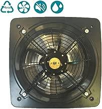 Ventilateur dextraction Mural ou au Plafond avec Obturateur Arri/ère pour Chambre /à Coucher de Salle de Bains 240m3//h 16W ZQYR Extractor Fans@ /Ø 120mm Ventilateurs Extracteurs