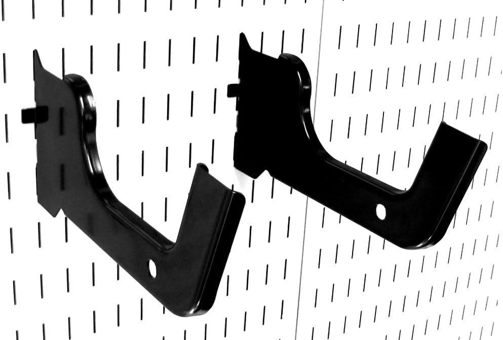 Wall Control Heavy Duty Pegboard Hook Slotted Hook Pair - Slotte