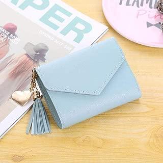 Women's wallet cute student tassel pendant PU wallet 2019 purse ladies and women's card bag ladies