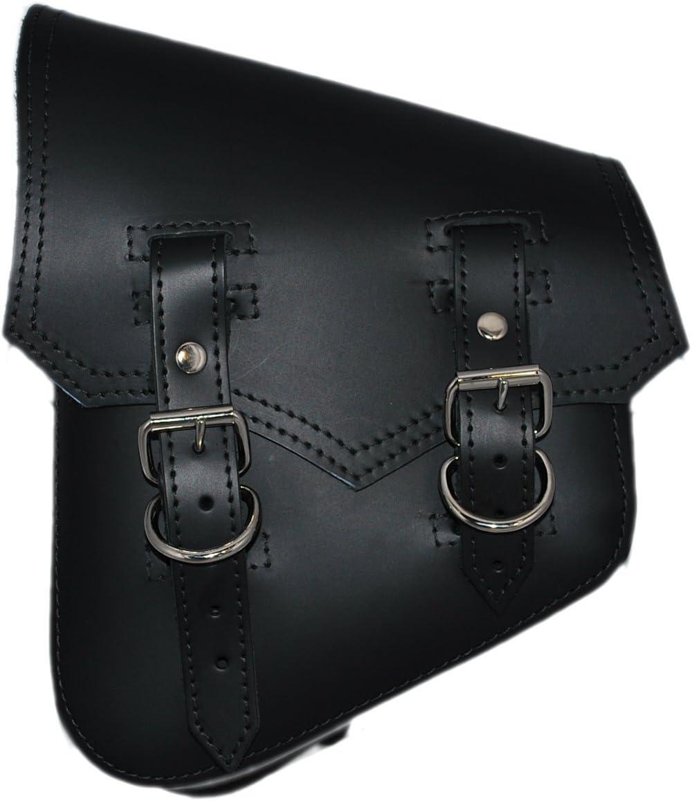 La Rosa Soldering Harley-Davidson Softail Rigid Black Vintage Style Leat Limited time sale