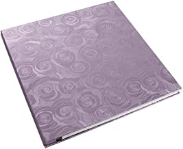 Lanpn Photo Album 4x6 500 Photos, Extra Large Capacity Wedding Family Photo Picutre Albums Holds 500 Pockets Horizontal and Vertical 4 by 6 Pictures with Black Pages Rose Purple
