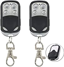 E-life Universal Remote Control Cloning, 2PCS Universal Gate Garage Door Opener Remote Control Fob 433mhz Replacement Key Fob