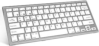 USB Mini Keyboard for Mac and Windows PC - 78 Scissor Switch Keys with 13 Shortcut Keys - Compact & Small Keyboard that Sa...
