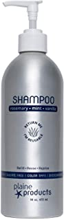 Eco-Friendly Shampoo - Rosemary, Mint, Vanilla - Sulfate Free, 16oz (Refillable Bottle with pump)