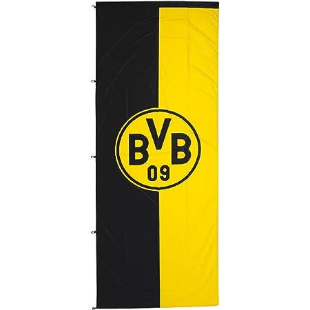 Borussia Dortmund Hissfahne L Fahne Logo 150 x 100 cm Flagge BVB 09 Seit 1909