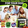 FurroLandia Hemp Calming Treats for Dogs - 170 Soft Chews - Made in Usa - Hemp Oil for Dogs - Dog Anxiety Relief - Natural Calming Aid - Stress - Fireworks | Aggressive Behavior (Bacon Flavor) #4