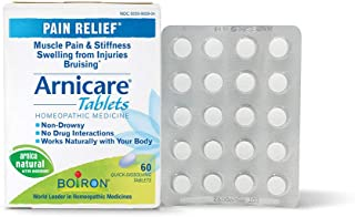 Boiron Arnicare, 60 Tablets, Homeopathic Medicine for Pain Relief