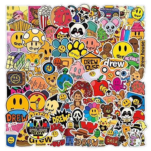 ZNMSB 103 Pegatinas de Graffiti de Justin Bieber, portátil, Scooter, Taza de Agua, Equipaje, Pegatina Impermeable, personalización