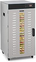 Klarstein Master Jerky 300 Pro Séchoir Professionnel/Gastronomique, avec 20 étagères, 2000 W, Capacité: 3,04 m², Thermosta...