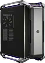 Cooler Master Cosmos C700P E-ATX Full-Tower with RGB Lighting, Dual-Curved Tempered Glass Side Panel, Aluminum Handles, Removable M/B Tray, Inversed Layout Option, 420mm Radiator Support