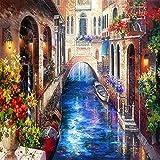 TTTTYYY Puzzle 6000 Piezas (Venecia) Rompecabezas de 6000 Piezas para Adultos Obra de Arte de Juego de Rompecabezas para Adultos