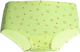 Mariposa Girl's Cotton Inner Elastic Printed Panty