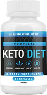 Keto Diet Pills - Weight Loss Fat Burner Supplement for Men and Women - Carb Blocker & Appetite Suppressant Formulated to ...