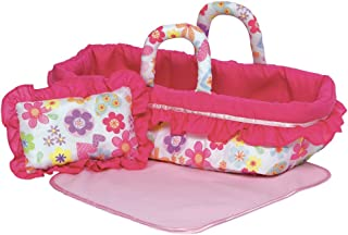 Adora Travel Portable Cloth Doll Toy Carrier Blanket & Pillow Set for Dolls Up to 12