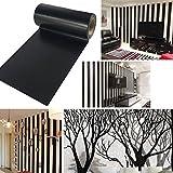 UOOOM 10 m x 10cm Nero Washi Tape Nastro Decorazione Della Parete Adesivo Scrapbooking Craft (Design 1010)
