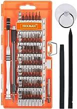 Precision Screwdriver Set,TECKMAN 64 in 1 Small Torx Phillips Pentalobe Tripoint Screwdriver Magnetic Bit Set for iPhone 8,7,MacBook,Xbox,PS3,PS4,Eyeglasses &Watches, Electronics Repair Tool Kit