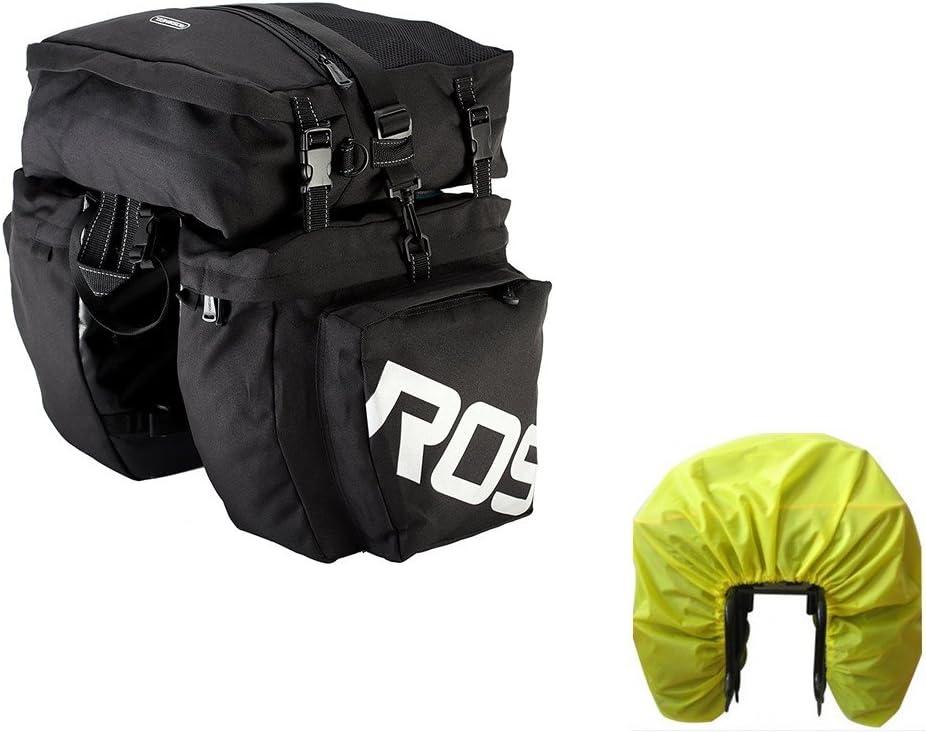 Roswheel Bike Fashion Omaha Mall Bag Pannier Trunk Bi Waterproof