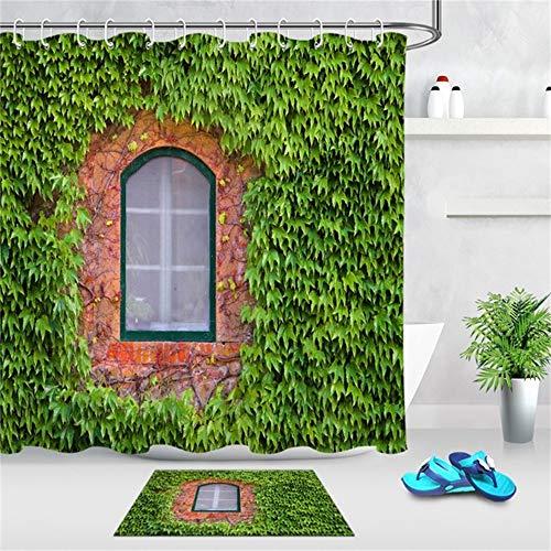 cortinas ducha antimoho hiedra