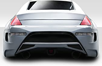 Brightt Couture ED-MXC-041 Urethane AMS GT Rear Bumper -1 Piece Body Kit - Compatible With 350Z 2003-2008
