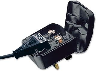 LINDY Euro to UK Adapter Plug Black