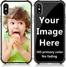 Shumei Custom Case iPhone Xs Max Glass Cover 6.5 inch Anti-Scratch Soft TPU Personalized Photo Make Your Own Picture Phone Cases