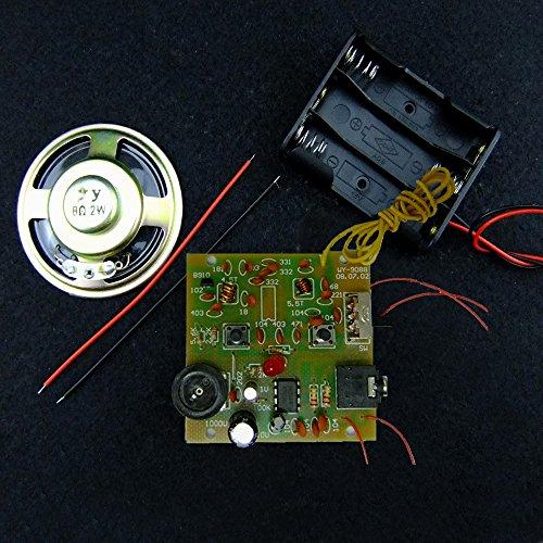 Kit de componentes paramontaje de sintonizador de radio FM 9088