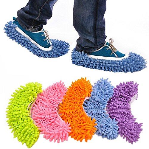 S Accmart Staub Mop Hausschuhe Schuhe Bodenreiniger reinigen Einfache Badezimmer B¨¹ro K¨¹che