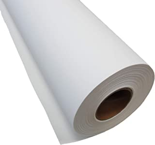 """Inkjet Canvas Roll for Wide Format Inkjet Printing, 36"""" x 75` roll, 100% Matte Polyester Canvas by Plotter Paper Direct"""