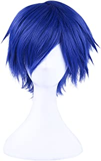 C-ZOFEK Fire Emblem Awakening Chrom Chrome Captain Short Cosplay Wig (Dark Blue)