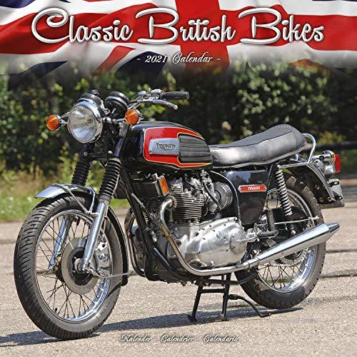 Classic British Motorbikes - Britische Motorrad-Oldtimer 2021: Original Avonside-Kalender [Mehrsprachig] [Kalender] (Wall-Kalender)