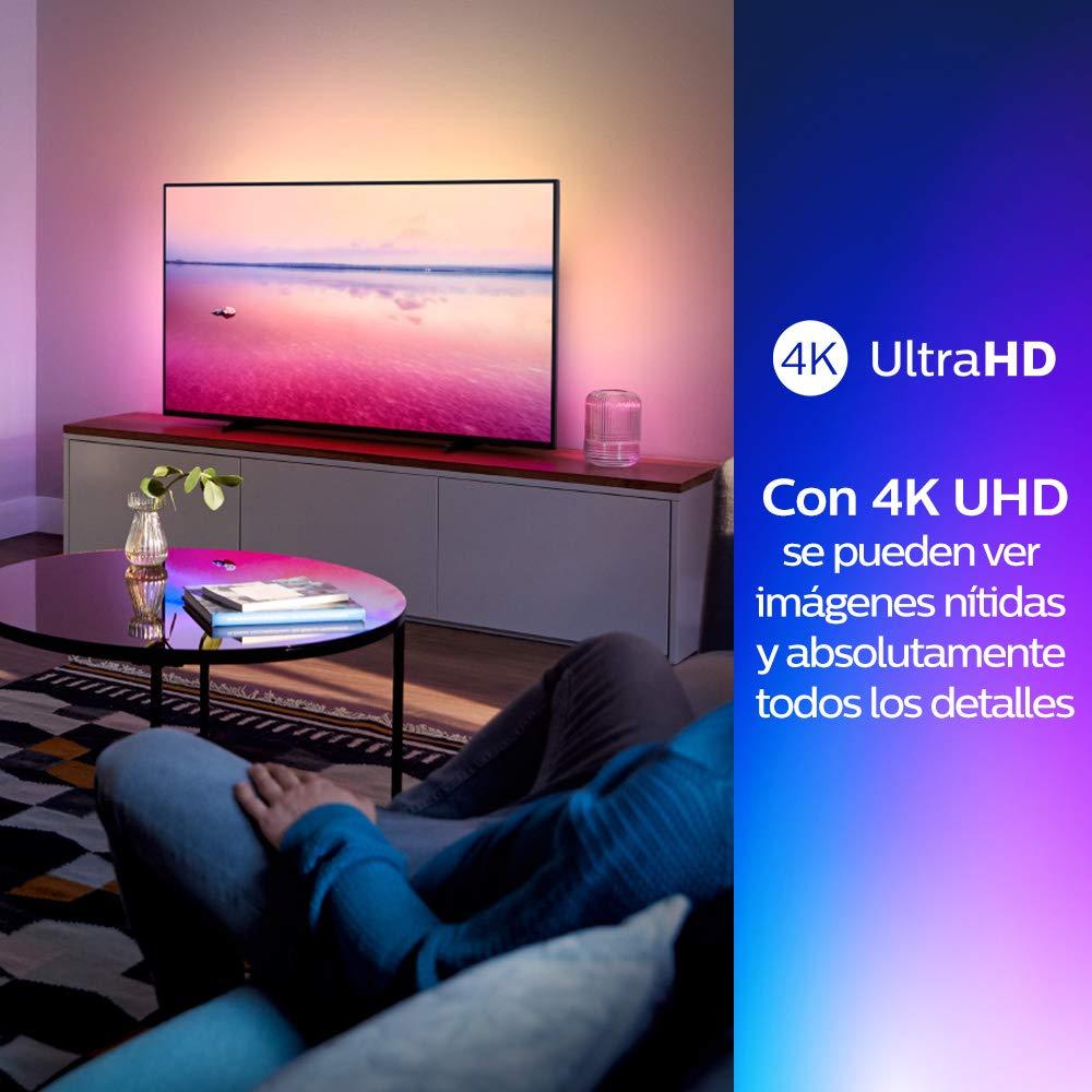 Philips 55PUS6704/12 - Smart TV LED 4K UHD, 55 pulgadas ...