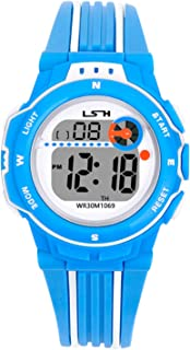 Kids Digital Watch,Boys Girls Sports Outdoor LED 50M(5ATM) Waterproof Multi Functional Wrist Watches with Alarm for Children,Girls,Boys